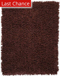 Anji Mountain Silky Shag 54944 Coffee Bean Area Rug