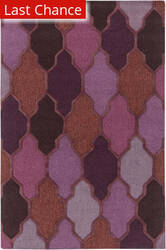Rugstudio Sample Sale 125935R Purple Multi Area Rug
