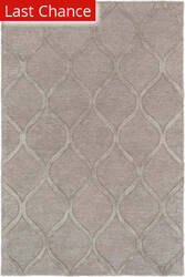 Rugstudio Sample Sale 137593R Gray - Metallic Area Rug