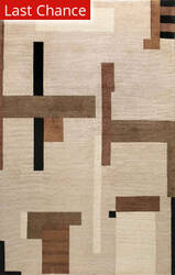 Rugstudio Sample Sale 60265R Beige Area Rug