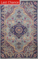 Rugstudio Sample Sale 193740R Teal Area Rug