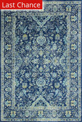Rugstudio Sample Sale 175664R Dark Blue Area Rug