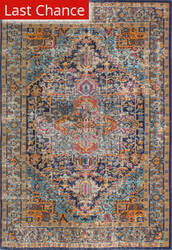Rugstudio Sample Sale 175722R Dark Blue Area Rug