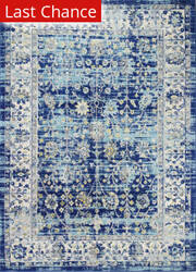 Rugstudio Sample Sale 204904R Navy Area Rug