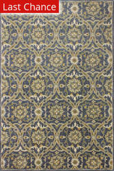 Rugstudio Sample Sale 175828R Blue Area Rug