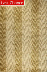 Rugstudio Sample Sale 60215R Gold Area Rug