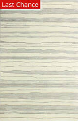 Rugstudio Sample Sale 175716R Ivory-Silver Area Rug