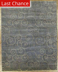 Benjamin Rug Imports Arcadia 2025 Light Blue Area Rug
