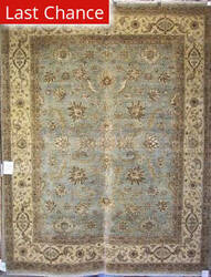 Benjamin Rug Imports Mystique 8015 Light Blue-Ivory Area Rug