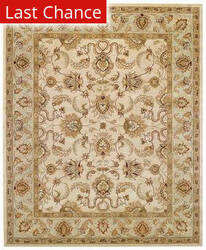 Rugstudio Sample Sale 43885R Beige/Spa Area Rug