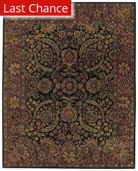 Rugstudio Sample Sale 43723R Black Area Rug
