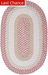 Rugstudio Sample Sale 160230R Tea Party Pink Area Rug