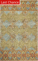 Rugstudio Sample Sale 193860R Terracotta Area Rug