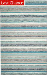 Rugstudio Sample Sale 204546R Blue Area Rug