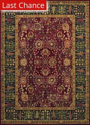 Couristan Royal Kashimar Cypress Garden Persian Red Area Rug