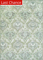 Couristan Cire Renaissance Mushroom - Antique Cream Area Rug