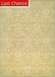 Rugstudio Sample Sale 172798R Tan - Ivory - Mauve Area Rug