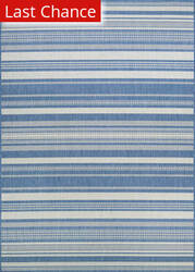 Rugstudio Sample Sale 173269R Champagne - Blue Area Rug