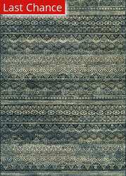 Rugstudio Sample Sale 114287R Black/Grey Area Rug