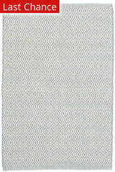 Rugstudio Sample Sale 158920R Swedish Blue - Ivory Area Rug
