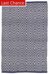 Rugstudio Sample Sale 158923R Navy - Ivory Area Rug