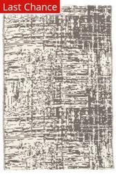 Dash And Albert Drybrush Cotton Grey Area Rug
