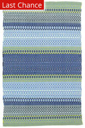 Rugstudio Sample Sale 160873R French Blue-Green Area Rug