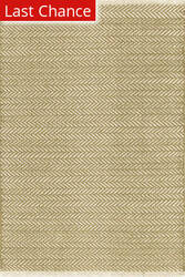 Dash And Albert Herringbone 105513 Olive Area Rug