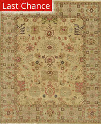 Rugstudio Sample Sale 168172R Gold - Fawn Area Rug