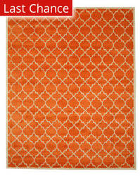 Eastern Rugs Moroccan T125or Orange Area Rug