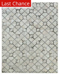 Rugstudio Sample Sale 190850R Ivory - Gray Area Rug