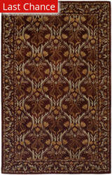 Rugstudio Sample Sale 64299R Classic Brown Area Rug