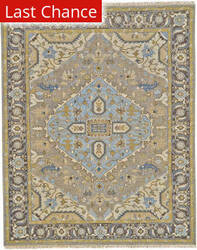 Rugstudio Sample Sale 184870R Dark Gray - Charcoal Area Rug