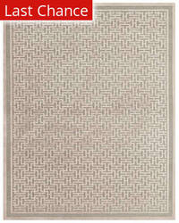 Rugstudio Sample Sale 185183R Pewter - Light Gray Area Rug