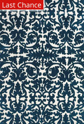 Rugstudio Sample Sale 184766R Midnight Blue Area Rug