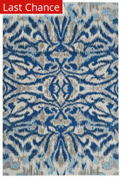 Rugstudio Sample Sale 185049R Blue Haze Area Rug