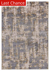 Rugstudio Sample Sale 185239R Gold - Sterling Area Rug