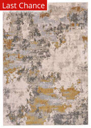 Rugstudio Sample Sale 185240R Gold - Birch Area Rug