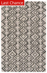 Rugstudio Sample Sale 192974R Charcoal - Taupe Area Rug