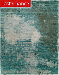 Rugstudio Sample Sale 156370R Turquoise Area Rug