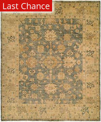 Rugstudio Sample Sale 21844R Blue/Gold Area Rug