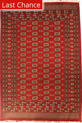Rugstudio Sample Sale 126002R Red Area Rug