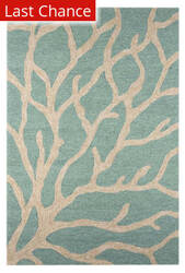 Rugstudio Sample Sale 69940R Frosty Green Area Rug