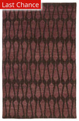 Rugstudio Sample Sale 195427R Purple Area Rug