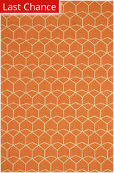 Rugstudio Sample Sale 61937R Red Orange/Red Orange Area Rug