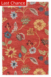 Rugstudio Sample Sale 53316RR Navajo Red/Marigold Outlet Area Rug