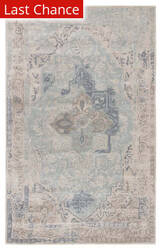 Rugstudio Sample Sale 186040R Gray - Light Blue Area Rug