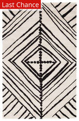 Rugstudio Sample Sale 169781R Turtledove - Jet Black Area Rug