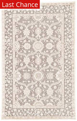 Rugstudio Sample Sale 146705R Steel Gray Area Rug