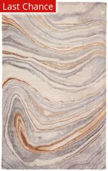 Rugstudio Sample Sale 196446R Copper - Gray Area Rug